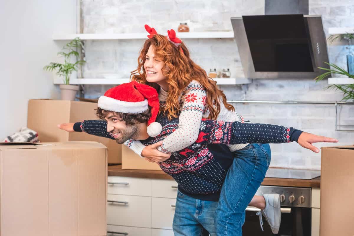 consejos para mudarse en Navidad