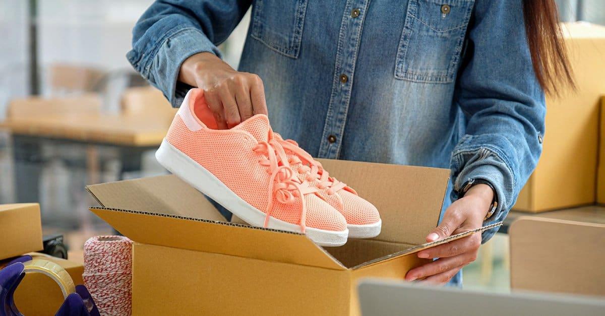 Empacar zapatos