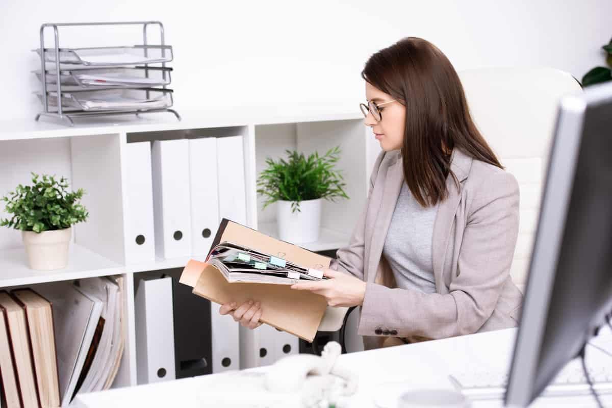 organizar documentos antes de mudarse